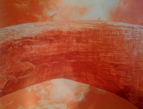 mark tansey bridge over the cartesian gap